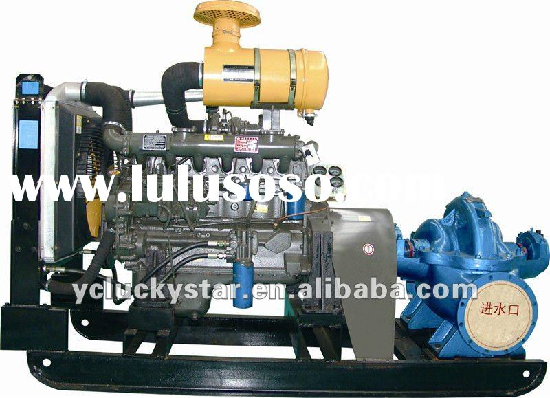 Diesel water pump set for agriculture irrigation