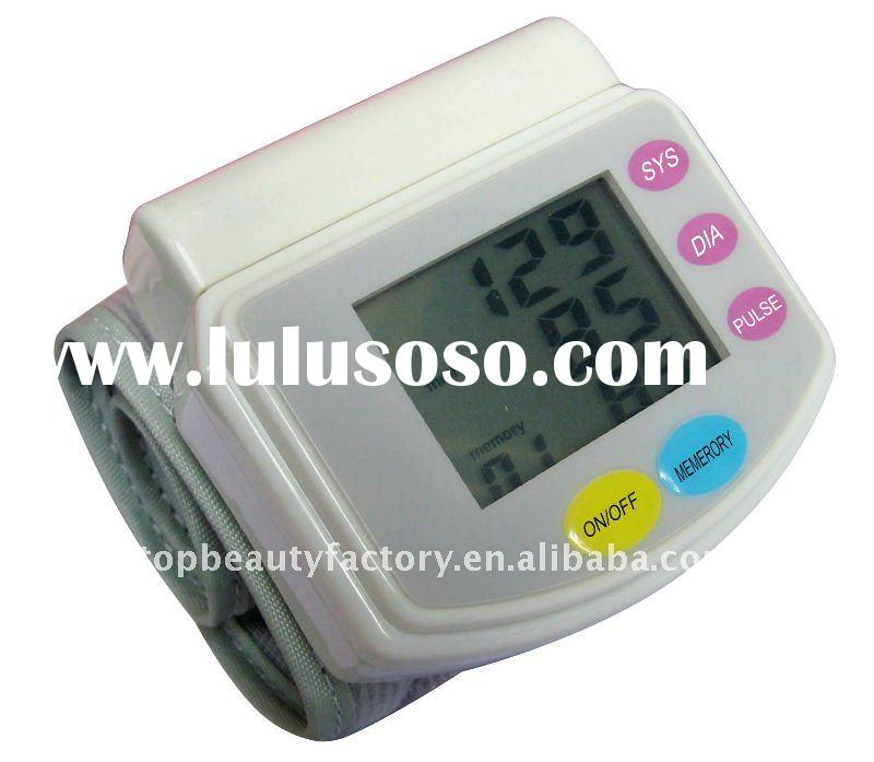 Digital LCD Wrist Blood Pressure tester Fully Automatic Blood Pressure Heart Beat Meter Tester