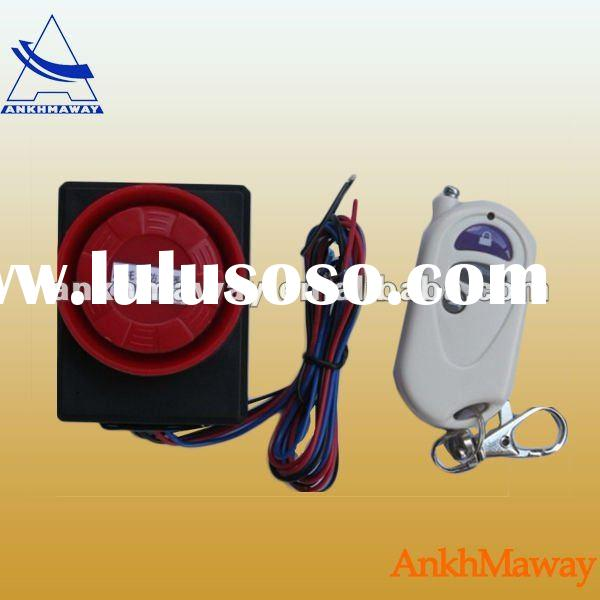 Electrical Bike Security Alarm System
