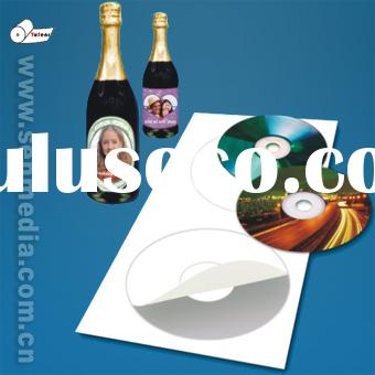 Factory sell inkjet paper label with adhesive sticker
