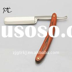 Fashionable High quality razor with wooden handle