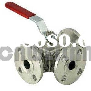 Forged Stainless Steel Three Way Ball Valve