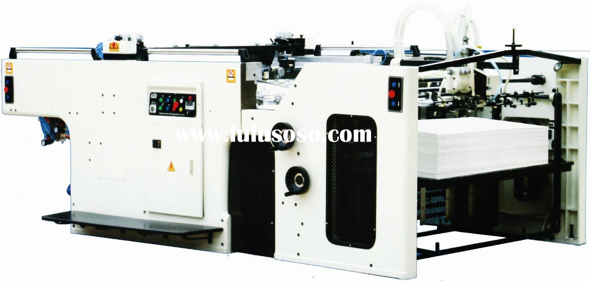 Fully Automatic Swing Cylinder Silk Screen Printing Machine