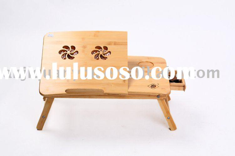 Green bamboo computer table, studying table