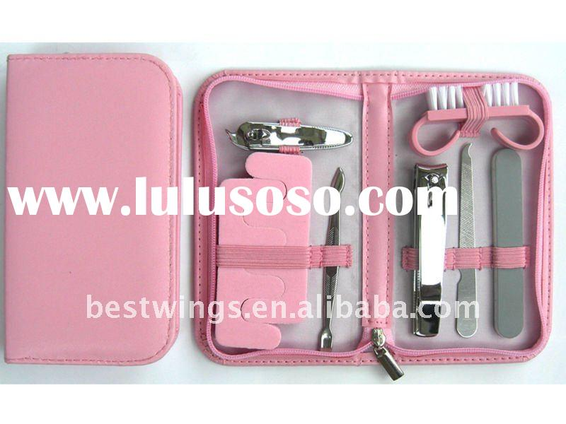 HOT! Multi-function Pink Pedicure and Manicure Set for Girls
