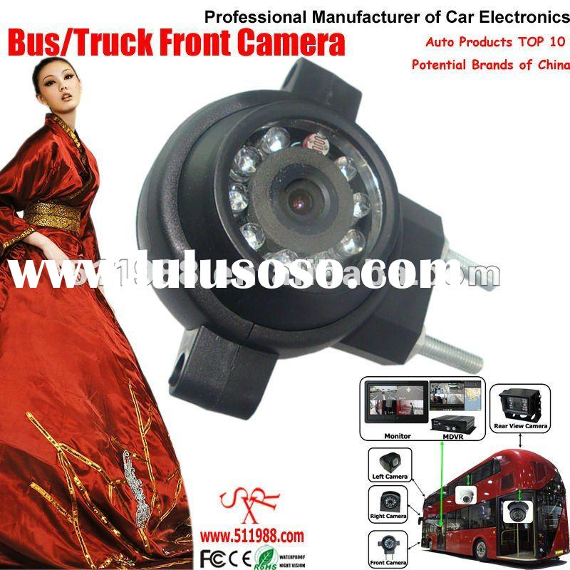 High definition super wide angle car bus truck vehicle front view camera