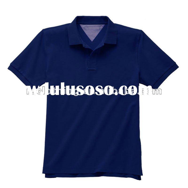 Mens Promotional Cotton and Polyester Polo Shirt