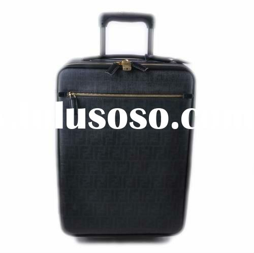 Nappa leather designer travel bags,trolley luggages 2012
