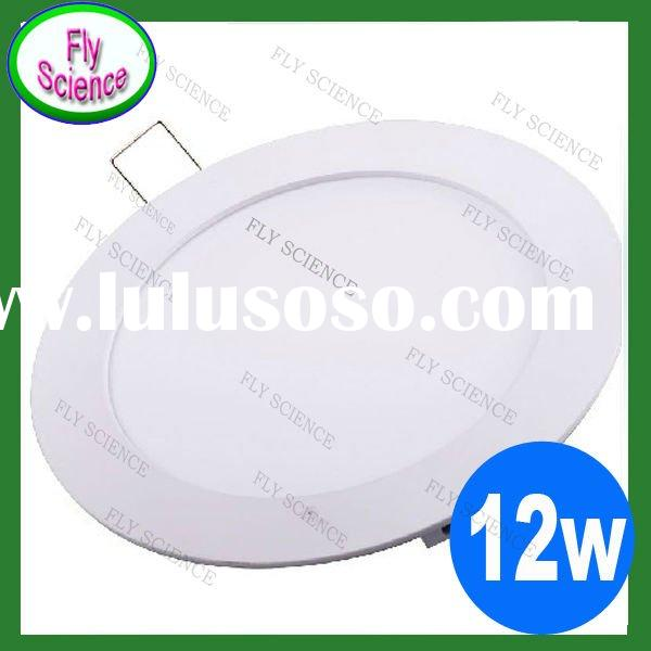Panel lights 12W super energy saving Super thin LED panel light 1150lm warm and white AC110-265V