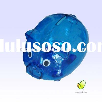 Personalized Designed Plastic Money Box for Gift(mt-419)