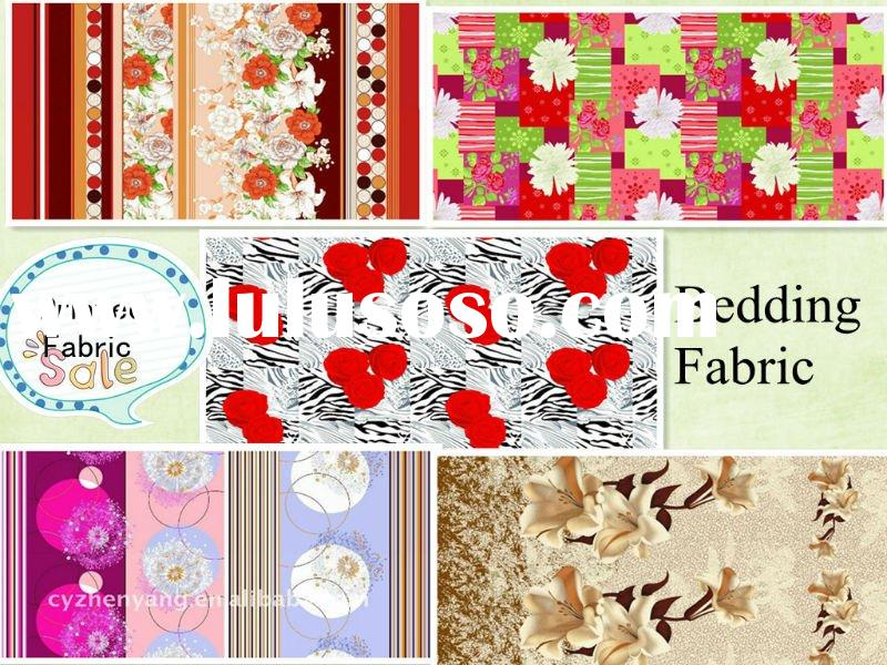 Printed Polyster Fabric for Bedding / hotel fabric / flower bedsheet / sweet bedsheet