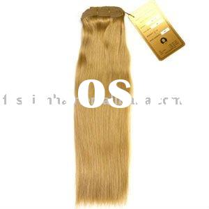Remy human weft hair