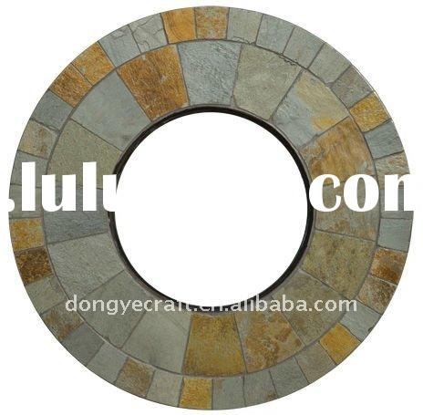 Slate Natural Stone Fire Pit Table Top YT581087