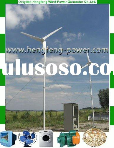 Small Wind Turbine Generator 1kw for Small Home Use