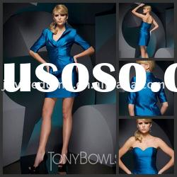 TB0029 Tony Bowls short Royal blue formal evening dress