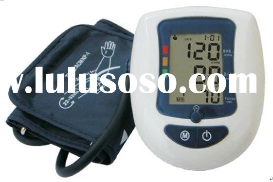 Upper arm digital blood pressure monitor (BPM) SIMZO SBP800A Capacitive sensor & oscillometry me