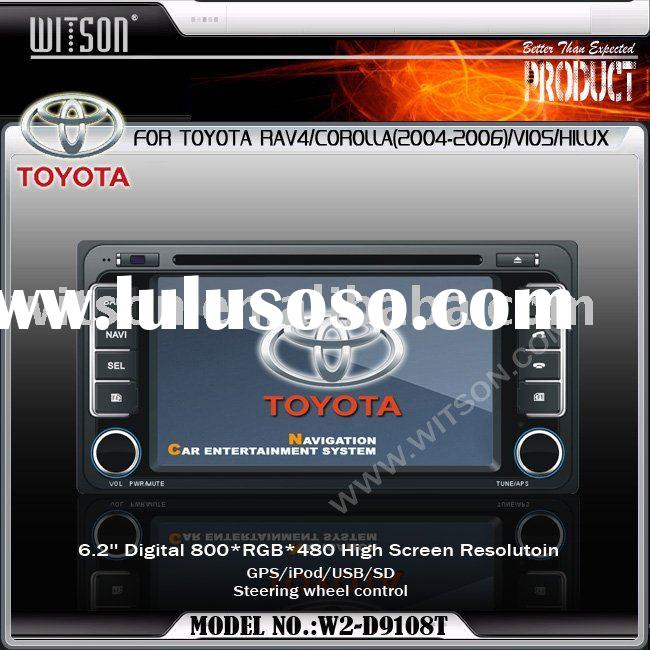 WITSON TOYOTA HILUX Car DVD Player With Bulit-in GPS