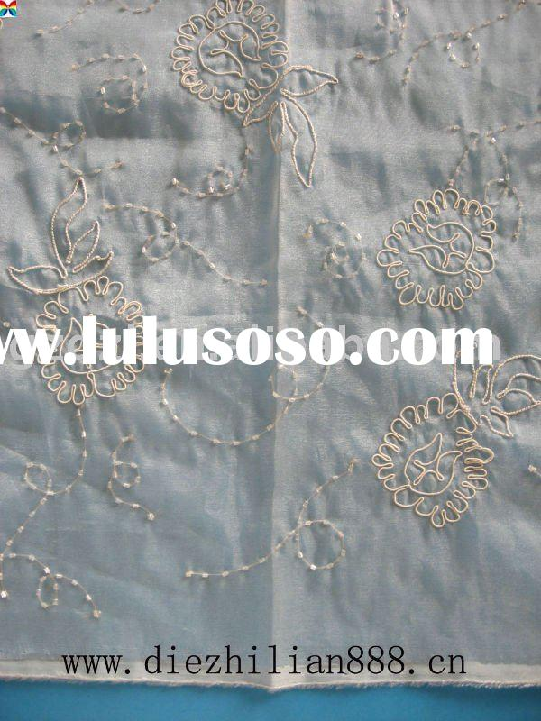 White organza swiss voile lace