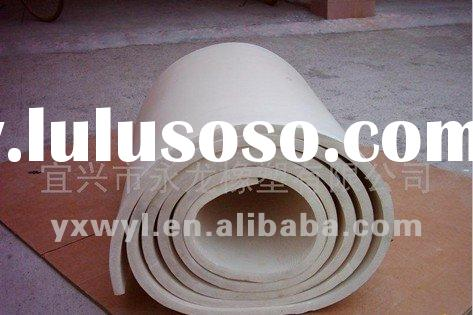 White rubber insulation sheet