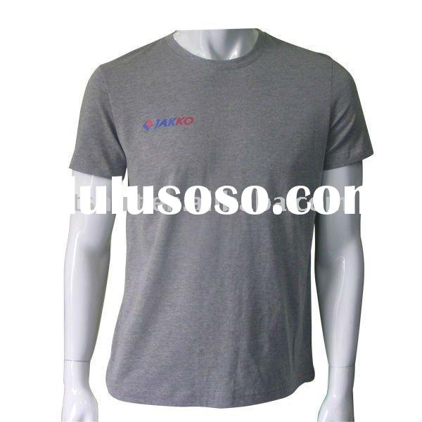 Wholesale printing 100 combed cotton t shirts for men
