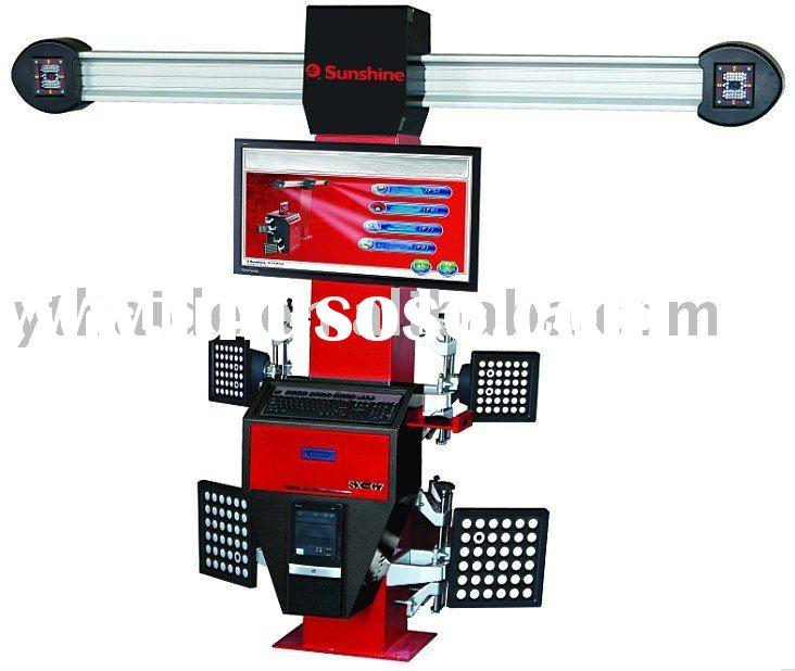 **SX-G7 alloy wheel repair equipment/alignment with CE
