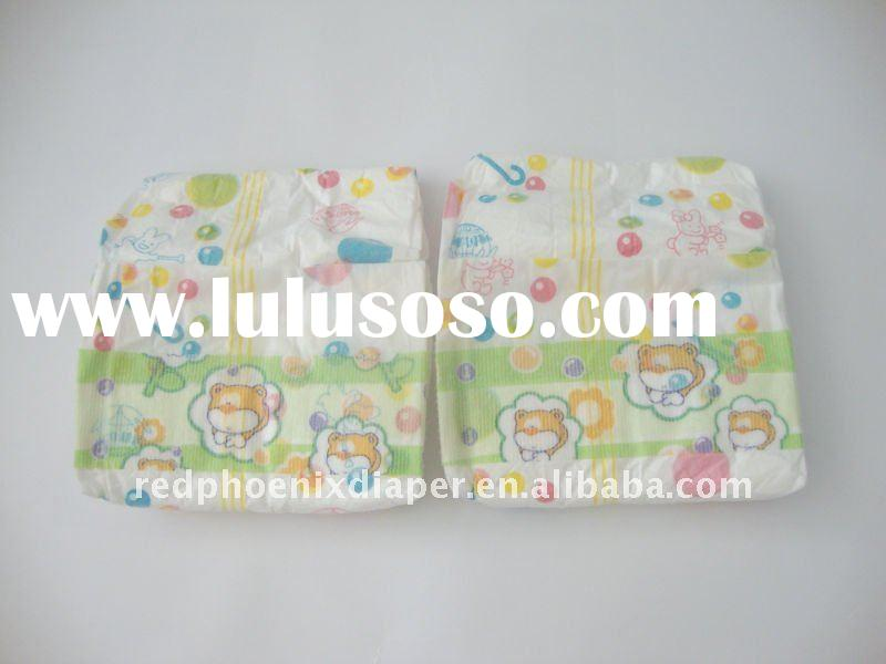 baby disposable diapers production line