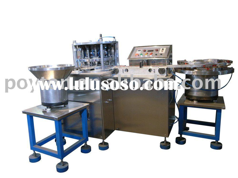 blood test tube assembly machine for stopper and plastic cap Lamination machine