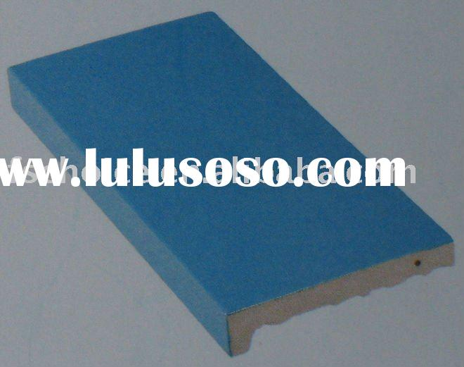 blue swimming pool edge tile for internation standard swimming pool