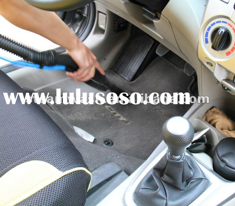 how to clean car with steam