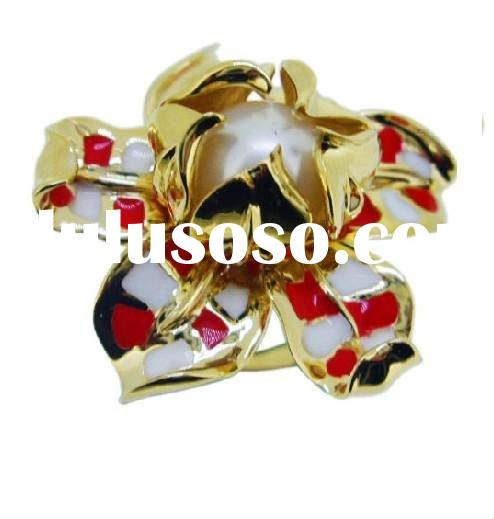 colorful gold ring, retail and wholesale,factory&manufacture