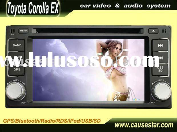 double din car gps dvd for corolla ex