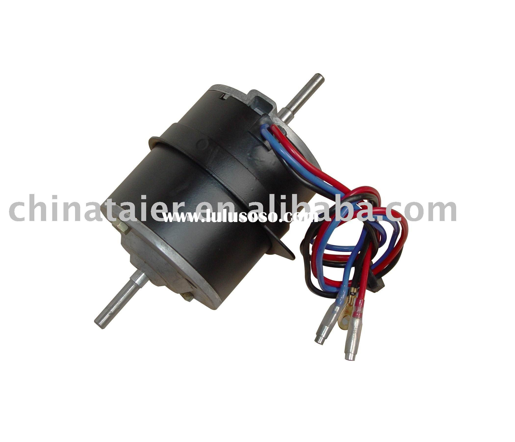 Double shaft motor for kitchen exhausting system for sale for Double ended shaft electric motor