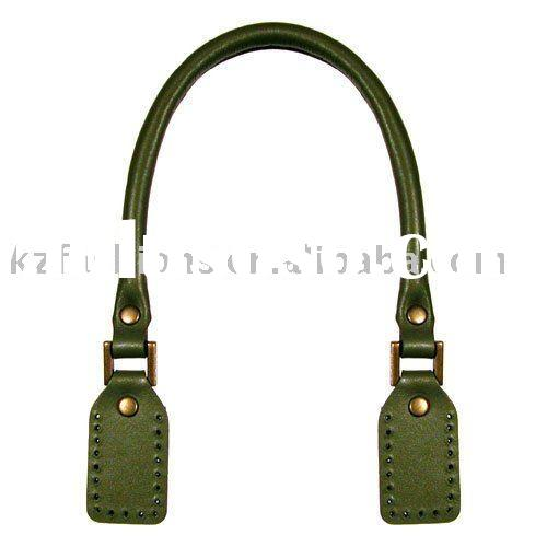 kz90131 green leather bag handle,bag straps