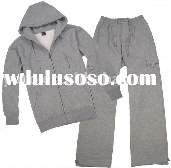 mens cotton polyester sweat suits