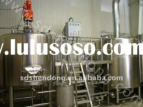 shendong 300L micro brewery equipment, stainless steel tank, 3BBL brewery equipment