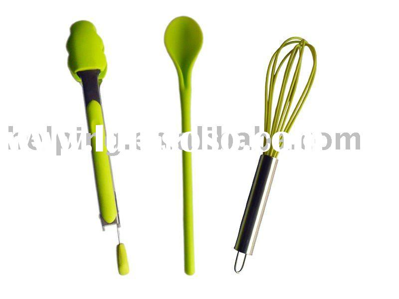 silicone kitchen tool set, cooking set, utensils