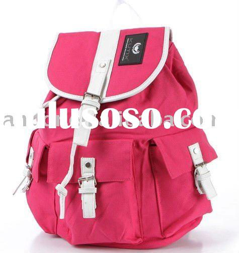 simple and elegant canvas backpack for girls