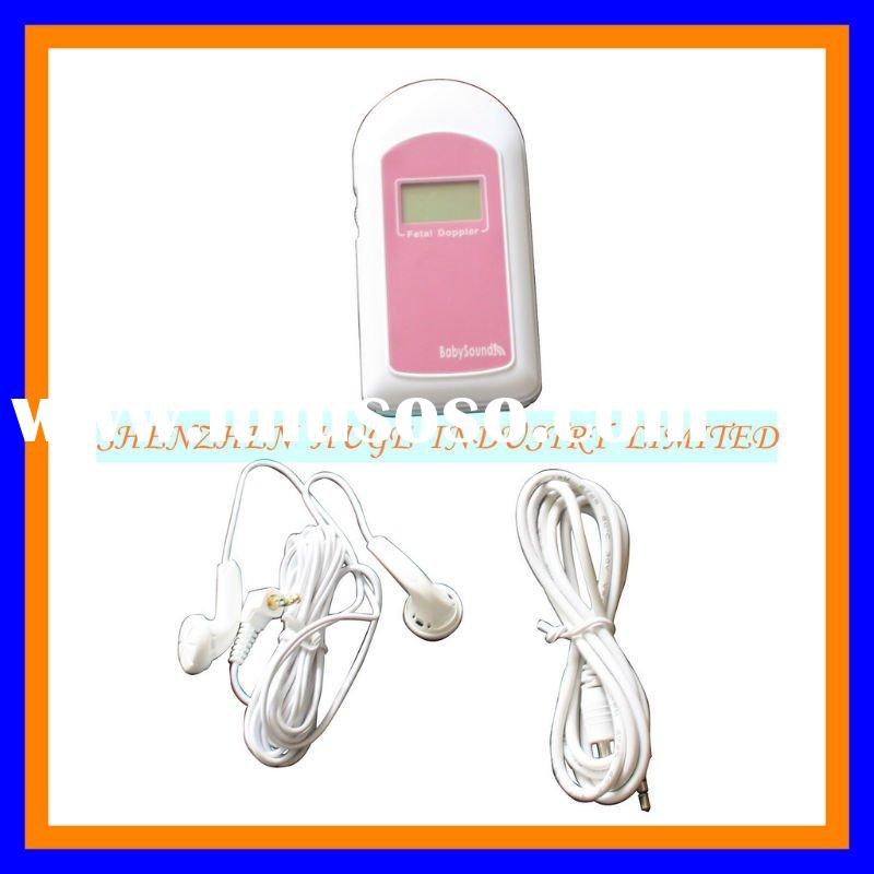 2011 hot selling high quality wholesale babys fetal heart rate ultrasound