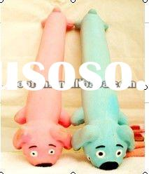 2012 hot sale big cotton-filled dog latex pet toy