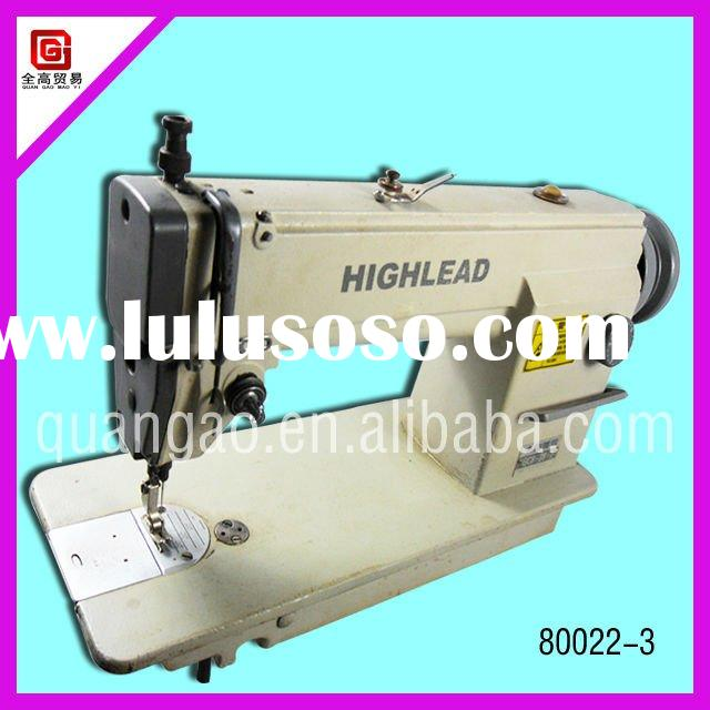 2012 hot sale used for usual cloth industrial sewing machine