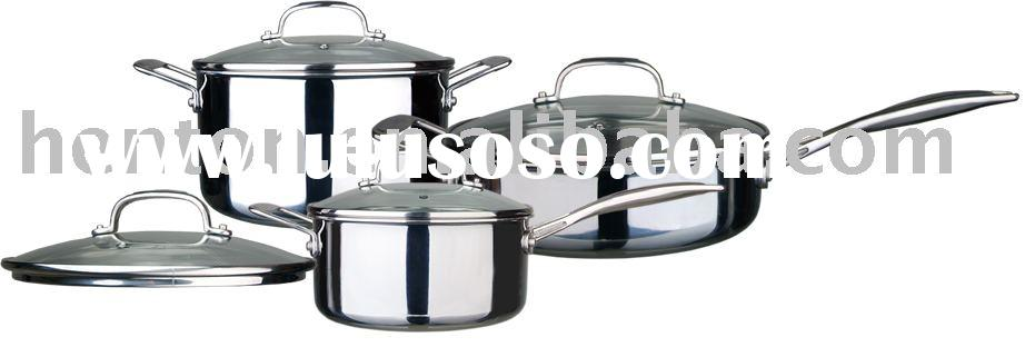6pcs cookware set-stainless steel Pot,stainless steel pan,stainless steel caldron