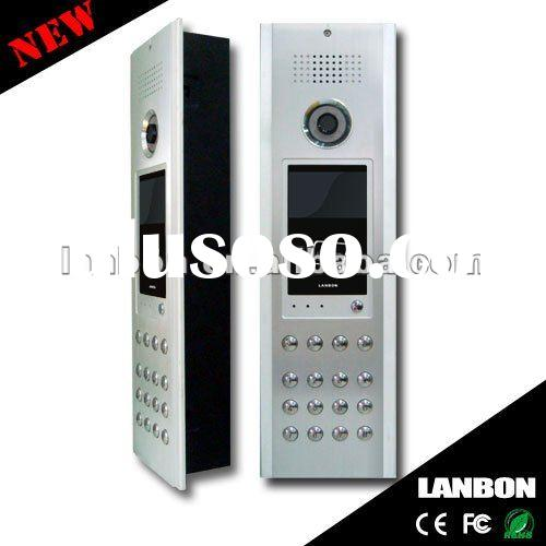 """7"""" color video door phone for apartment"""