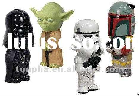 Best selling!!! Lively star wars figure usb flash drives