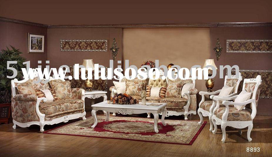 European Wooden living room sofa MLG-M8893