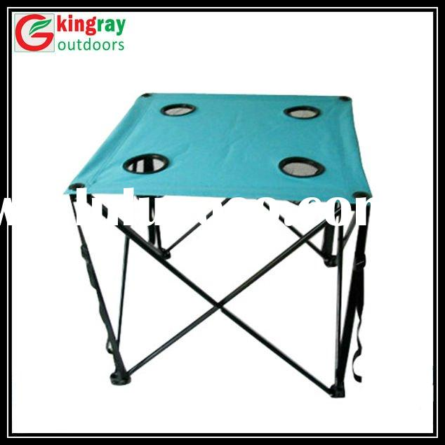 First-class beach folding table