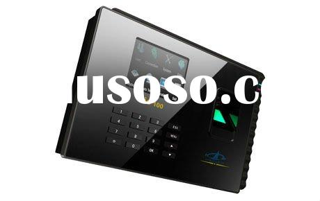 HF-Bio100:Biometric time tracking access control,color finger time attendant