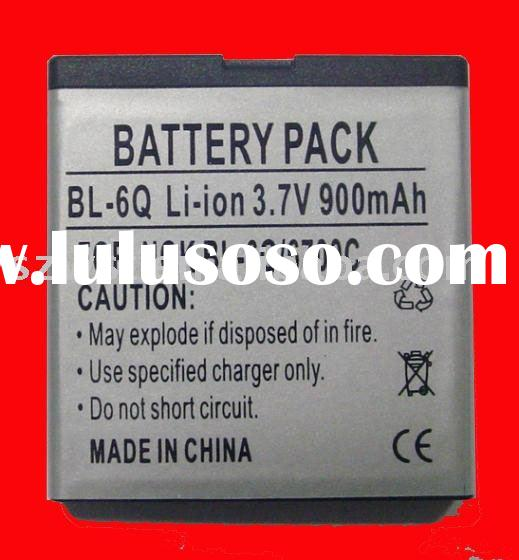 HOT !! Li-ion battery for Nokia 6700C, BL-6Q