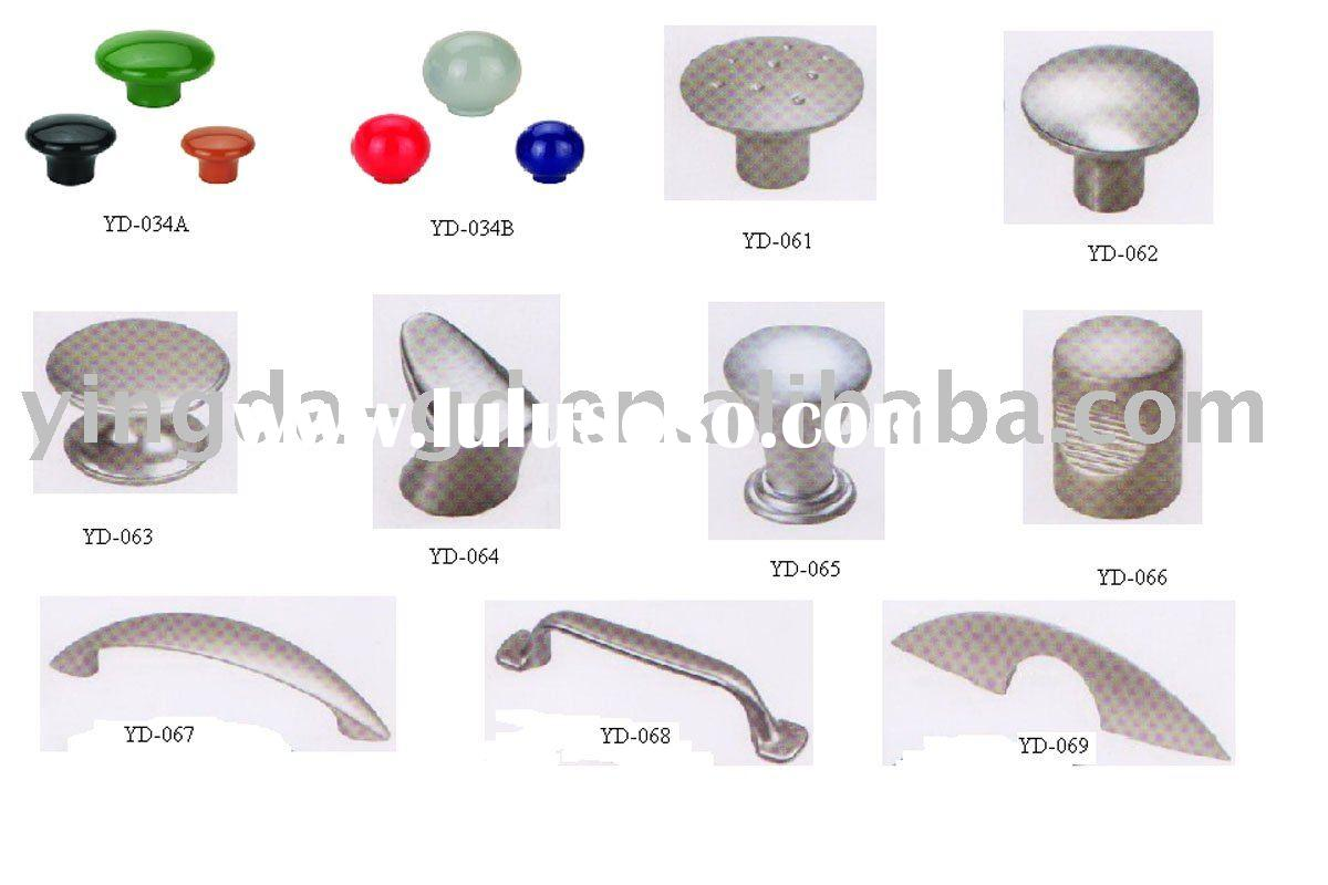 High quality Zinc alloy and Plastic kitchen cabinet handle