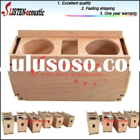 Hot Sell High Quality Line array 10inch empty wooden cabinet