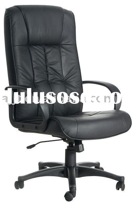 J-038A black office leather executive chair